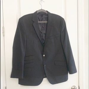 Kenneth Cole Black Lined Sport Coat, Size 42s